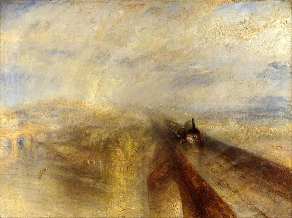 19世紀の人々に衝撃を与えた速度――蒸気機関車の超現実性を描いた ...